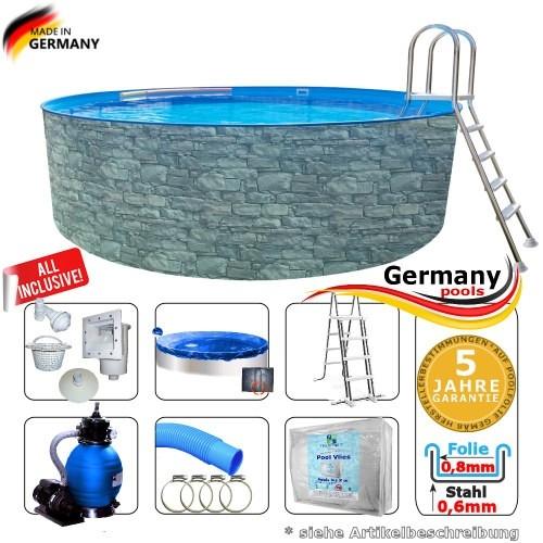 550-x-120-cm-Poolset-Stone-Pool-Steinoptik