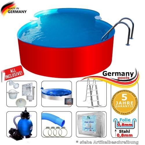 8-55-x-5-00-x-1-25-m-Achtform-Swimmingpool-Set-Achtform-Pool