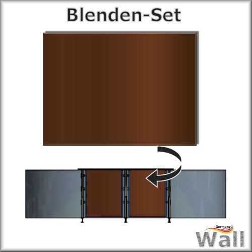 Germany-Pools Wall Blende C Tiefe 1,25 m Edition Sierra