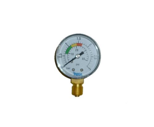 Manometer-fuer-Sandfilter-0-3-bar-14-Zoll-Sandfilteranlage-Ersatzteil