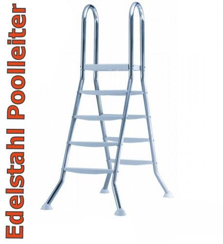 Poolleiter-1-50-m-Edelstahl-V2A-Hochbeckenleiter-mit-Plattform