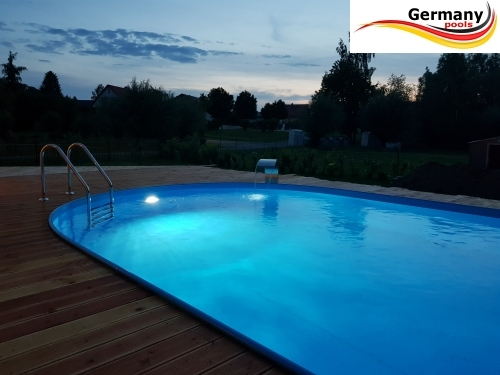 Einbaupool 5,30 x 3,20 x 1,50 m Einbaubecken Gartenpool Oval pool Ovalpool Pools