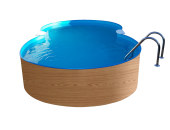 Pool-Achtform