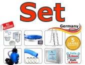 Schwimmbecken-oval-Set