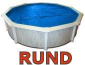 Solarfolie-rund