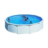 3,50 x 1,20 m Pool STARK1 Plus Set Breiter Handlauf