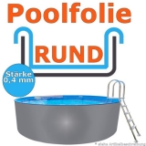 3,60 x 1,20 m x 0,4 mm Poolfolie Schwimmbadfolie 360 x 120 Pool Innenfolie