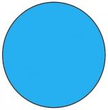 6,00 x 1,20 m x 1,0 mm Poolfolie rund mit Einhängebiese