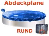 4,5 - 4,6 m Pool Abdeckplane Poolabdeckung 450 Winterplane rund 460