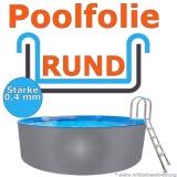 4,50 x 1,20 m x 0,4 mm Poolfolie Schwimmbadfolie 450 x 120 Pool Innenfolie