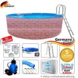 420 x 120 cm Poolset Gartenpool Pool Komplettset