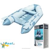 Schlauchboot Set Angelboot 2,70 x 1,37 x 0,37 m 65064