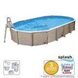 7,30 x 3,60 x 1,32 m Ovalpool Center Pool oval freistehend