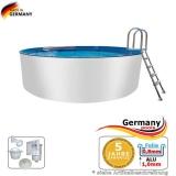 8,00 x 1,25 m Alupool Aluminium-Pool