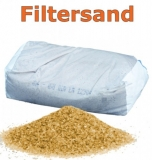 Filtersand 0,8 - 1,25 Filterkies Pool Quarzsand