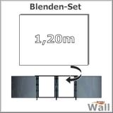 Germany-Pools Wall Blende B Tiefe 1,20 m Edition Alpha Weiß