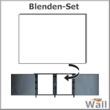 Germany-Pools Wall Blende C Tiefe 1,50 m Edition Omega Alu