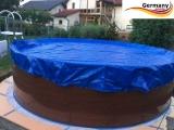 5,25 x 3,20 m Pool Abdeckplane Poolabdeckung Winter 525 x 320