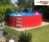 320 x 125 cm Aufstellpool Set