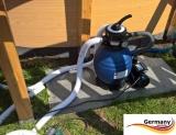 6,00 x 1,20 Holzpool Dekor Holz Design Gartenpool Holz-Optik