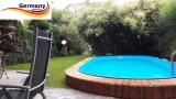 7,0 x 4,2 x 1,25 m Edelstahl Ovalpool Einbau Pool oval Komplettset