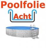 Poolfolie acht 5,25 x 3,20 x 1,20 m x 1,0 Folie Ersatz
