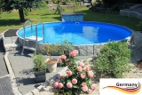 6,00 x 1,25 m Swimming Pool Komplettset