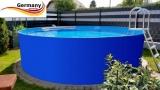 7,00 x 1,25 m Stahlwandbecken Pool