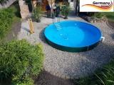 450 x 125 cm Gartenpool Komplettset