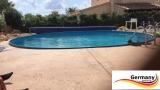 350 x 120 cm Poolset Gartenpool Pool Komplettset