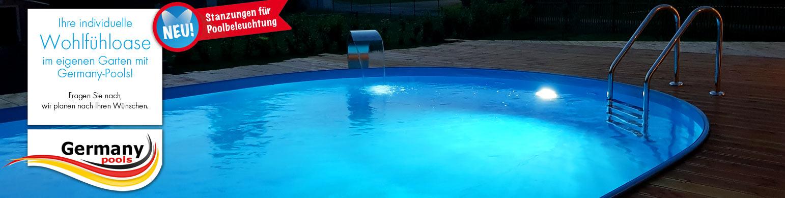 Stahlwandpool, Edelstahlpool, Swimmingpool kaufen von Profi ...